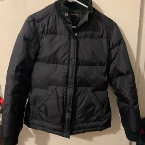 Club Monaco Black Coat Puffer